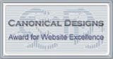 Canonical Award for Website Excellence